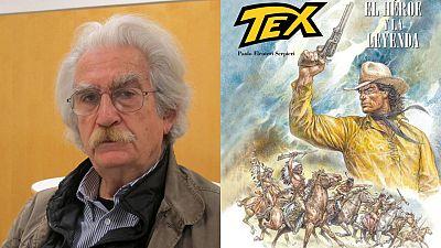Paolo Eleuteri Serpieri y la portada de 'Tex: El héroe y la leyenda'