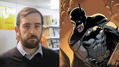 Álvaro Mártinez en el Salón del Cómic de Barcelona y su versión de Batman