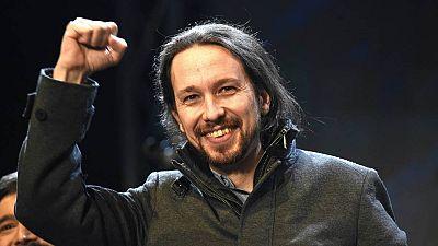 Pablo Iglesias, secretario general de Podemos y candidato a la Presidencia del Gobierno.