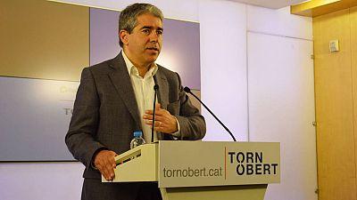 El candidato de CDC a las elecciones generales del 26 de junio, Francesc Homs