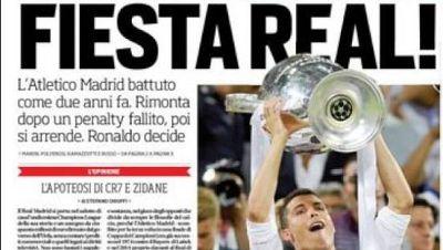 La Champions, en la prensa mundial