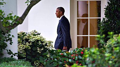 El presidente de Estados Unidos, Barack Obama, en la Casa Blanca