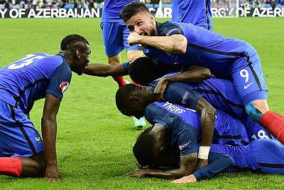 Los franceses han goleado a Islandia para meterse en las semifinales de la Euro.