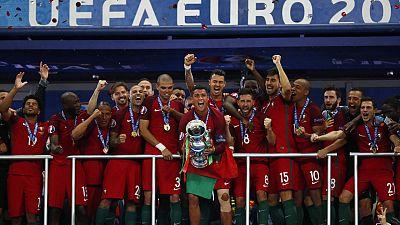 Portugal le gana la Eurocopa a Francia en la prórroga y sin Cristiano
