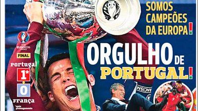 La Euro de Portugal, en la prensa