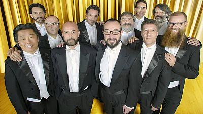 Los tenores del Coro RTVE