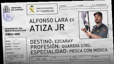 Alfonso Lara es Atiza Jr