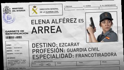 Elena Alférez es Arrea