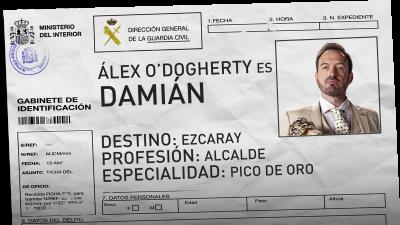 Alex O'Dogherty es Damián Navarro, el alcalde de Ezcaray