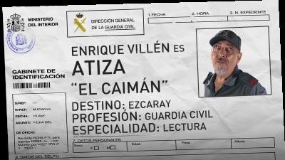 Enrique Villén es Gregorio Atiza