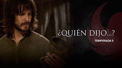 Águila Roja - ¿Quién dijo esto... en la quinta temporada?