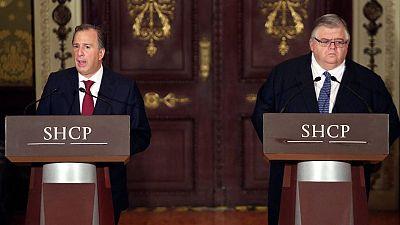 El ministro de Hacienda y el gobernador del Banco de México