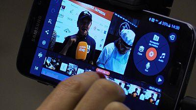 Periodismo móvil en el XXII Salón del Manga de Barcelona
