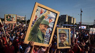 Despedida de Fidel Castro