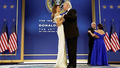 Todas las imágenes de la investidura de Trump