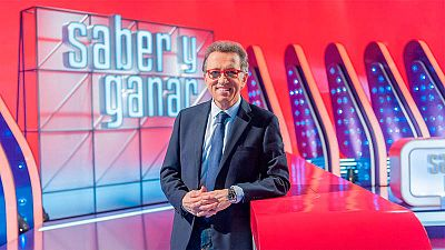 Jordi Hurtado en el plató de 'Saber y Ganar'