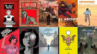Los nominados españoles a los premios del 35 Salón del Cómic de Barcelona