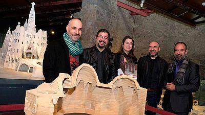 Presentación de la exposición 'Gaudí entre viñetas'
