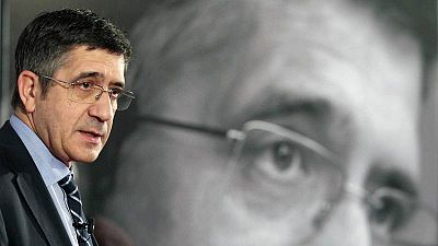 El candidato a las primarias socialistas Patxi López