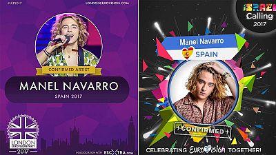 """La actuación de Manel, anuncia en el Facebook de """"IsraelCalling"""" y """"London Eurovision Party"""""""
