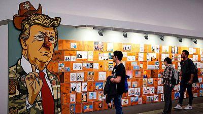 Exposición 'Retratando a Donald Trump'