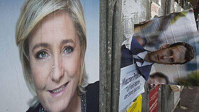 La Republica Francesa se enfrenta a dos semanas de furiosa campaña electoral para elegir entre dos candidatos opuestos.