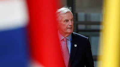 El negociador por la UE para el Brexit, Michel Barnier, fotografiado en Bruselas