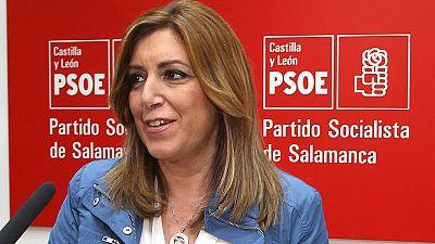 Susana Díaz gana en avales en Andalucía y Madrid, Pedro Sánchez en Valencia y Cataluña