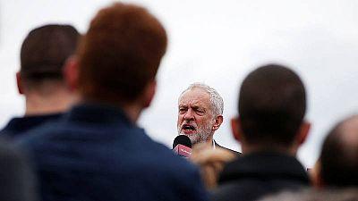 Jeremy Corbyn multiplica sus mítines en los ultimos dias de la campaña electoral.