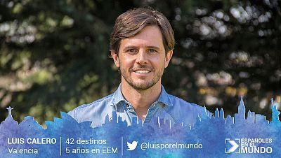 Luis Calero Valencia. 42 destinos en 5 años.