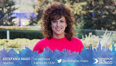 Estefanía Masó Estefanía Masó, de Madrid. 14 destinos en 3 años.