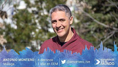 Antonio Montero, de Málaga. 5 destinos en 2 años.