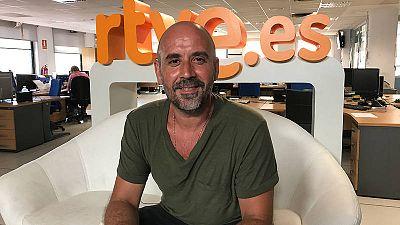 El actor Paco Marín ha charlado con los seguidores de 'Servir y proteger'
