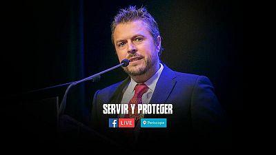 Facebook Live con Tirso Calero, creador y coordinador de guión de Servir y proteger