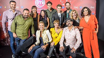 Los 12 aspirantes de MasterChef Celebrity 2