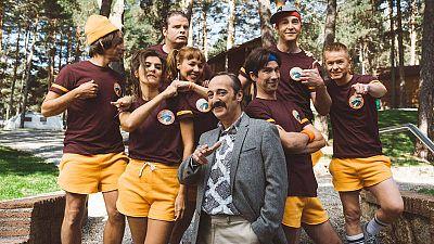 Foto de familia de la serie 'Colegas'