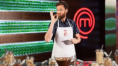 Edu Soto en MasterChef Celebrity