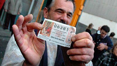 Un agraciado con el 'Gordo' de la Lotería de Navidad de 2007