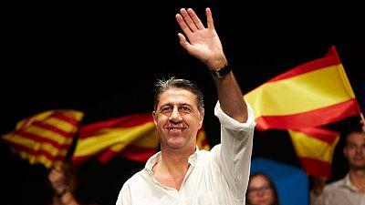 Xavier García-Albiol, en un acto en Badalona el día antes del referéndum del 1-O