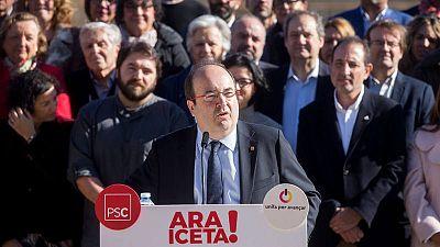 El primer secretario del PSC y candidato a las elecciones del 21-D, Miquel Iceta