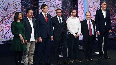 Debate electoral en La Sexta.