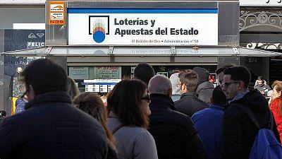 Colas en las administraciones de Lotería a dos días del sorteo
