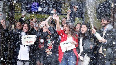 El número 71.198, premio Gordo de la Lotería de Navidad
