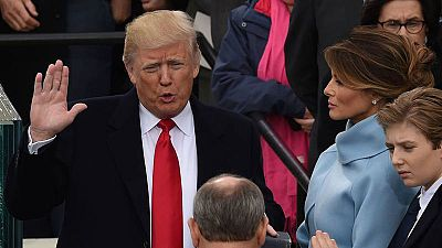 Trump: un año en la Casa Blanca de un presidente excesivo