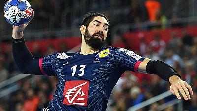 Nikola Karabatic, en el partido por el bronce ante Dinamarca.