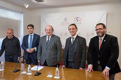 Presentación del concierto de la Orquesta RTVE en la Universidad de Salamanca