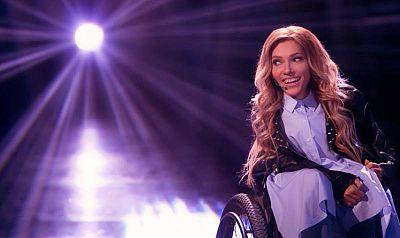"""Yulia Samoylova, representante de Rusia Eurovisión 2018 con la canción """"I won't break"""""""