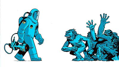 Fragmento de la portada de '¡Universo!'