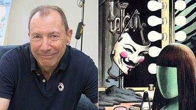David Lloyd en el Salón del Cómic de Barcelona y la famosa máscara de V