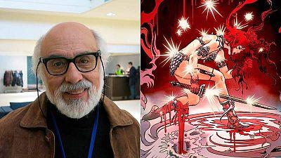 Esteban Maroto en el Salón del Cómic de Barcelona y Red Sonja